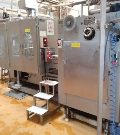 HEMA EC22 FILLING GROUP WITH SEAMER ANGELUS 41L