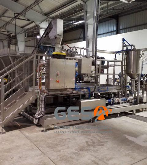 BERTOCCHI VXD2 Turboextractor For Cold Extraction With CIP And Deaeration
